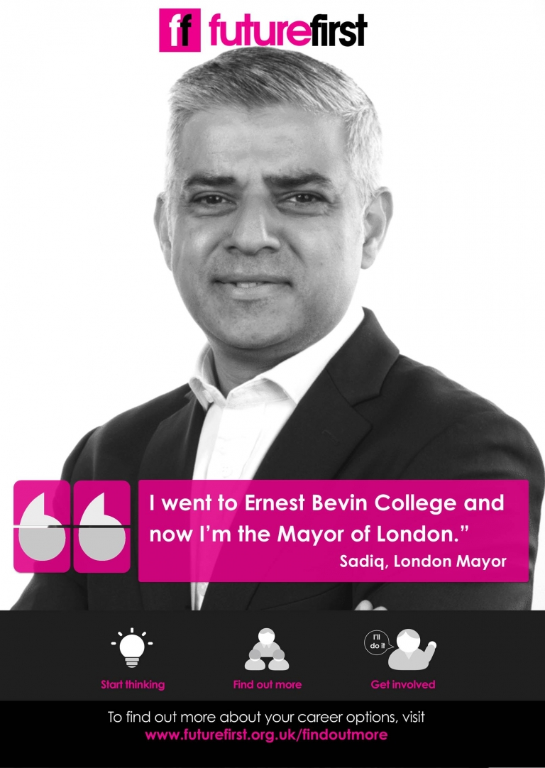 'I went to Ernest Bevin College and now I'm the Mayor of London'