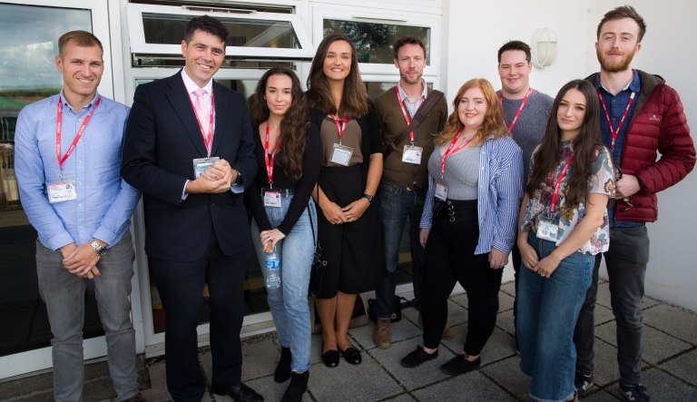 Cornwall MP joins inspirational alumni event