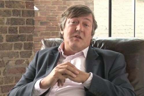 Stephen Fry endorses Future First's work with schools in opportunity areas
