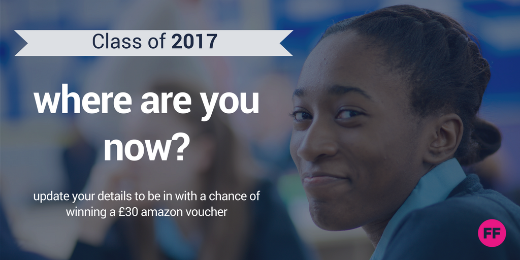 Competition details - 'where are you now?' class of 2017