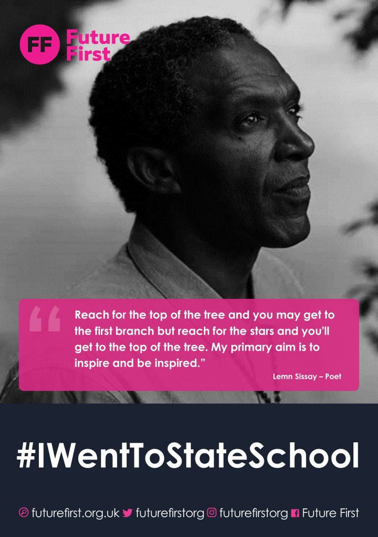 Poet Lemn Sissay backs our Crowdfunder