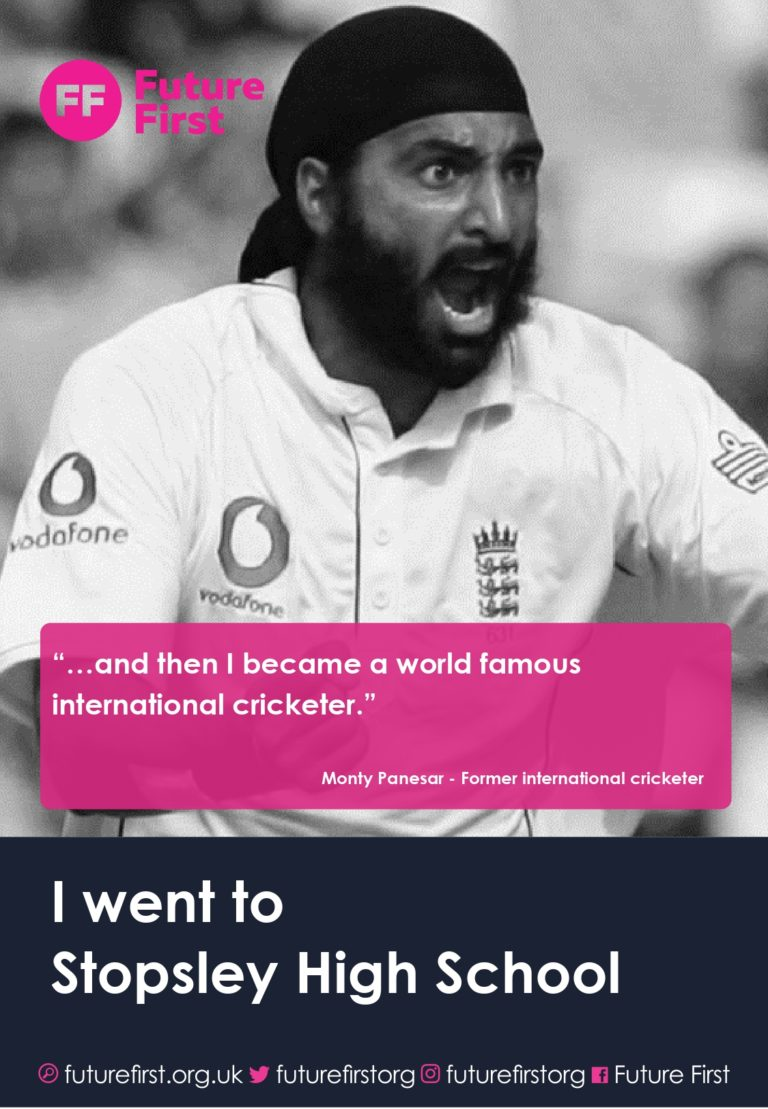 Monty Panesar joins forces with Future First