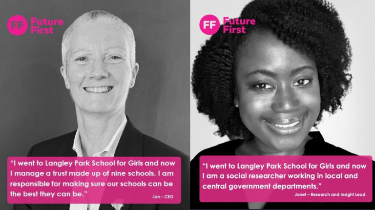 Langley Park School for Girls: building a thriving network